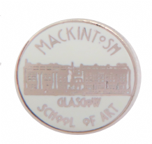 Glasgow School of Art GSA  (Mackintosh) Pin Badge - 1713